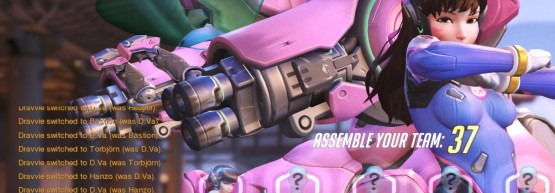D.Va Swapping, Crop to show chat text